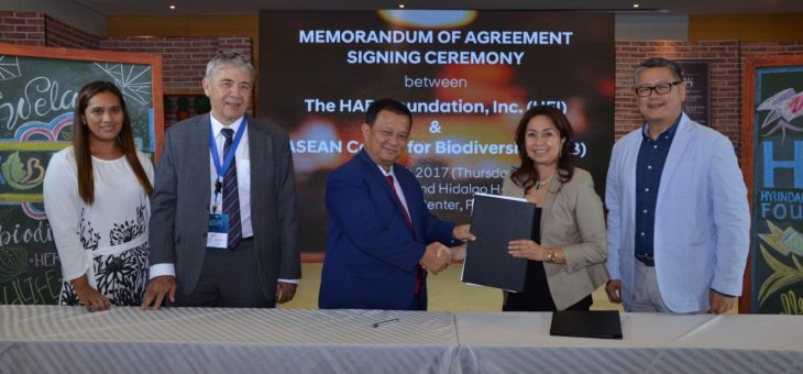 ACB and HARI Foundation to promote business and biodiversity cooperation in the ASEAN region